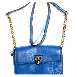 Calvin Klein purse blue leather